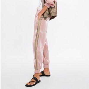NWT Zara jogger Pants Sz L